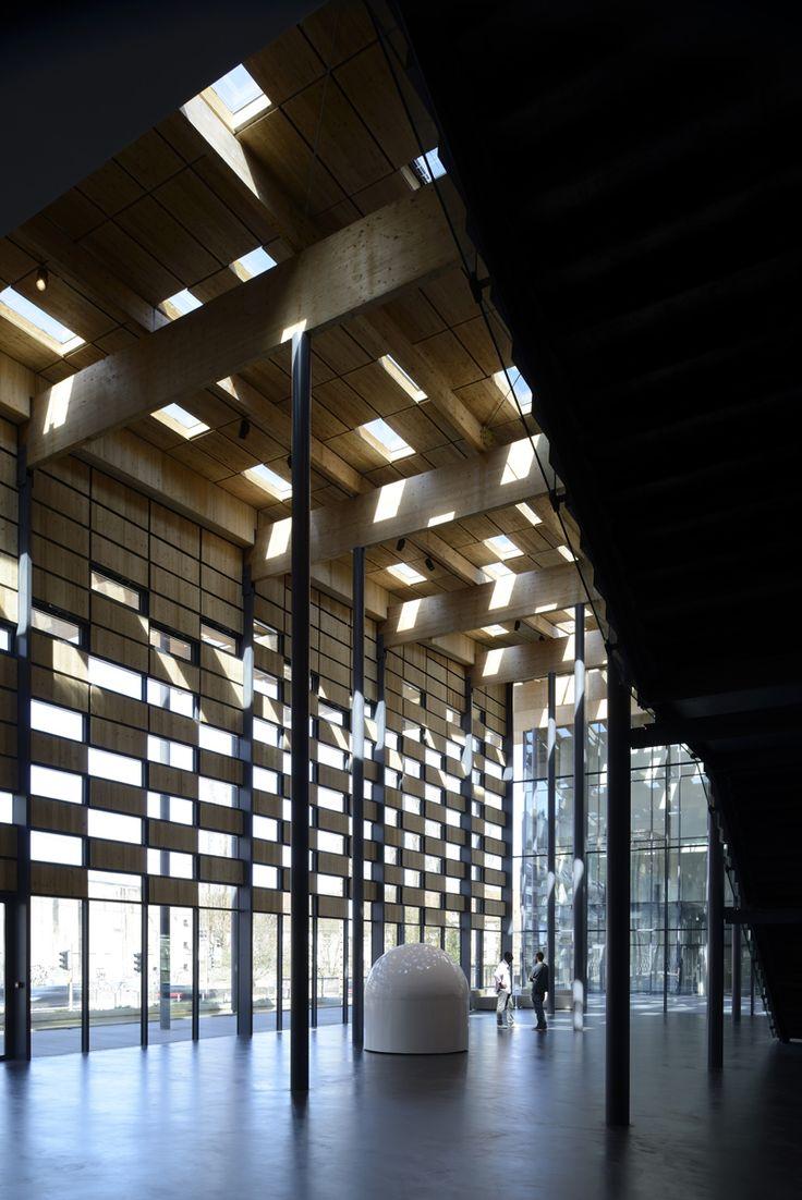 Besançon Art Center and Cité de la Musique | kengo kuma and associates