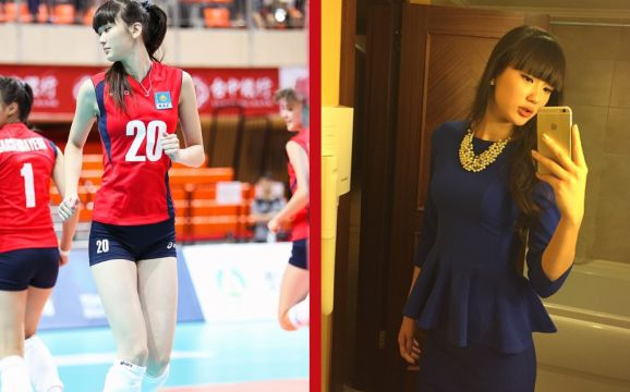 Setahun yang lalu dunia olahraga bola voli dunia sempat dikejutkan dengan kehadiran seorang pemain bola voli berparas cantik yang lahir dan besar di Kazakhstan.