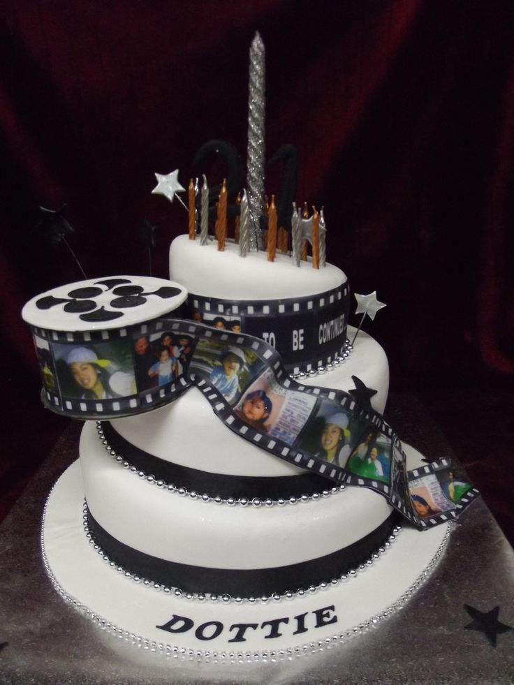 Birthday Cake Images For Email : Film strip timeline 21st birthday cake www.frescofoods.co ...