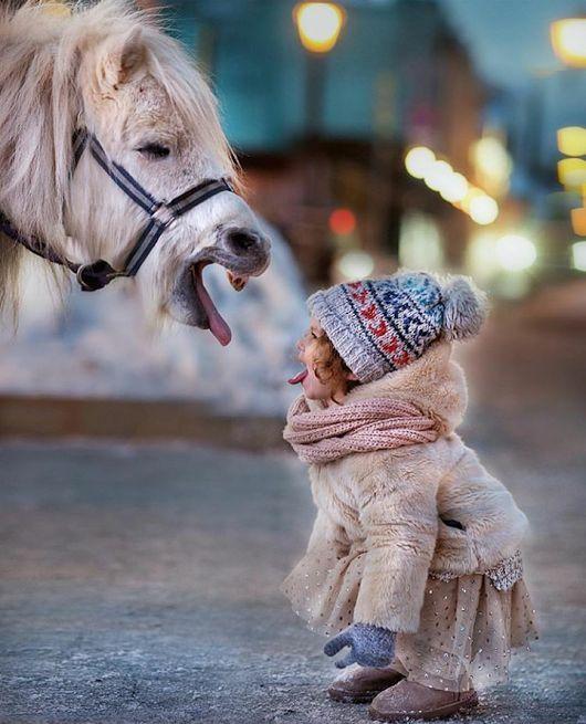Inspiration Foto Shooting mit Tieren