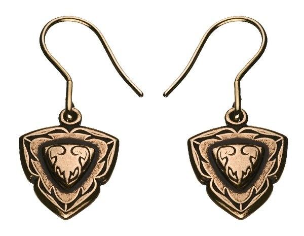 "♥♥♥♥♥ ""Venla"" earrings, pronze(Kalevala Koru/Jewerly)"