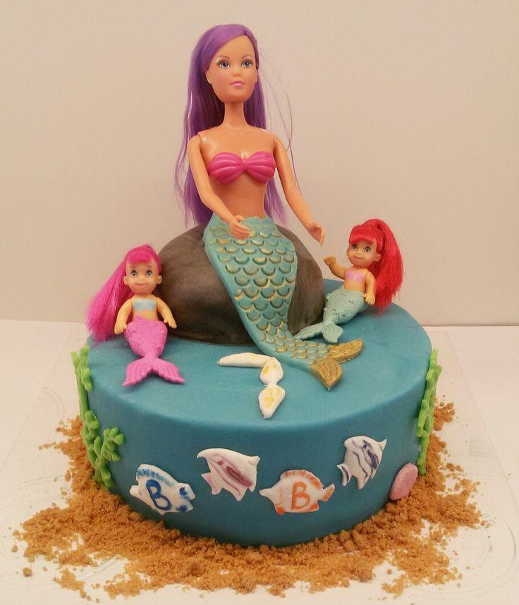 Zeemeerminnen taart