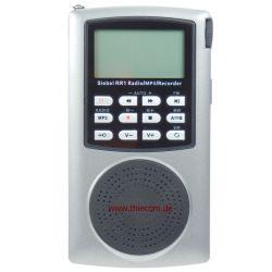 RR-1 kompaktes Reise Radio mit Kurzwelle, DSP Technik und MP-3 Player / Rekorder