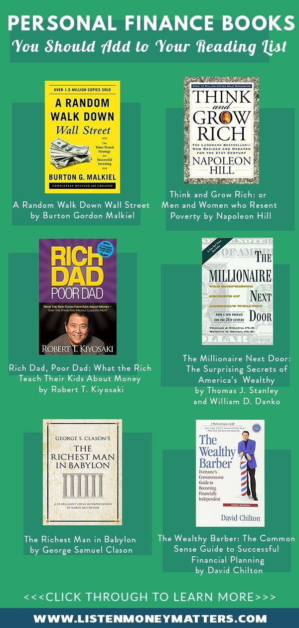 Must Read Personal Finance Books You Should Add to Your Reading List
