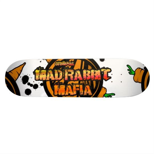 Mad Rabbit Mafia Skateboard 21.6cm