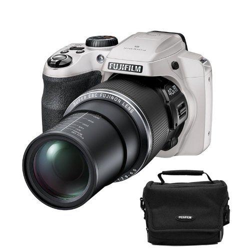Fujifilm FinePix S8200 16MP Digital Bridge 40x Zoom Camera - Case Bundle - WHITE FujiFilm http://www.amazon.co.uk/dp/B00K21PD3Q/ref=cm_sw_r_pi_dp_A4i2tb12WAMXSY2G