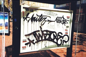 Classic Twister – read more @ http://www.juxtapoz.com/Graffiti/twist-23234234 – #graffiti #twister #1996