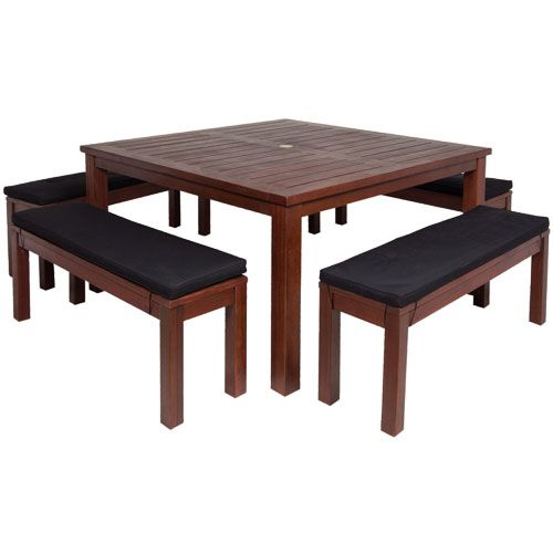 Lucca 5 Piece Bench Setting   Mitre 10. LuccaOutdoor FurnitureBenches Part 48