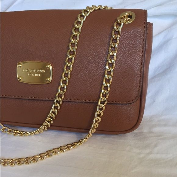 Michael Kross Small Shoulder Flap Leather Bag Brand new Michael Kors Bags Shoulder Bags