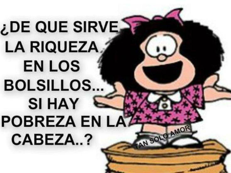 Dale una mirada a las frases más famosas de Mafalda.