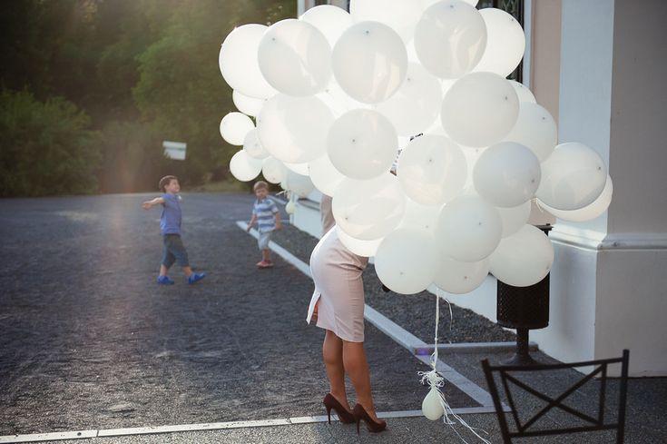 Chateau Liblice.Свадьба в Чехии. Свадебный фотограф в Чехии: воздушные шары, оформление свадьбы