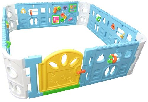 Interactive Baby Play Pen from nanny-annie.com