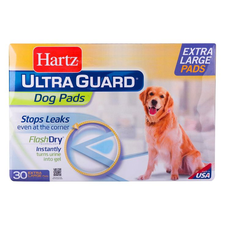 Hartz Ultra Guard Dog Pads Flash Dry Extra Large 30 ct