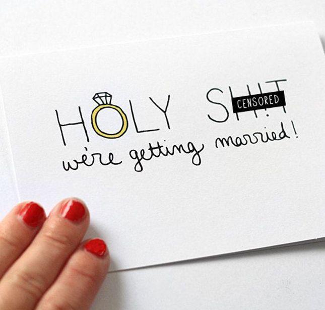Engagement Announcements.