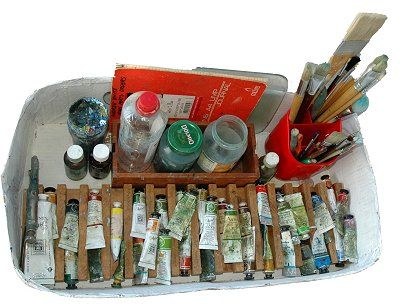 Oil Painting for beginners and fine art tutorials by Andrew Whyte- what you need to start