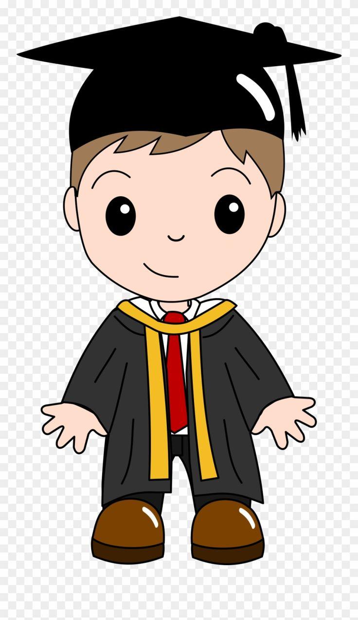 Graduation Ceremony Cartoon Clip - Graduation Boy Clipart ... (736 x 1276 Pixel)