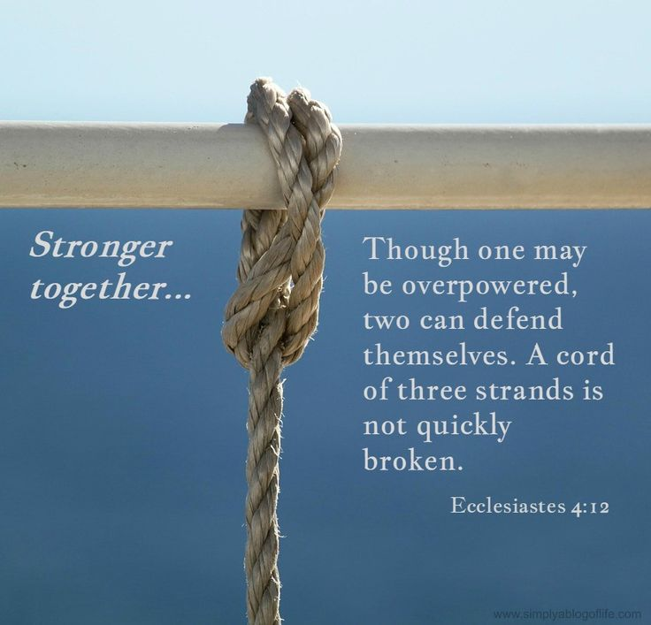 Oneness In Marriage Part 5 Stronger Together As One A S Study