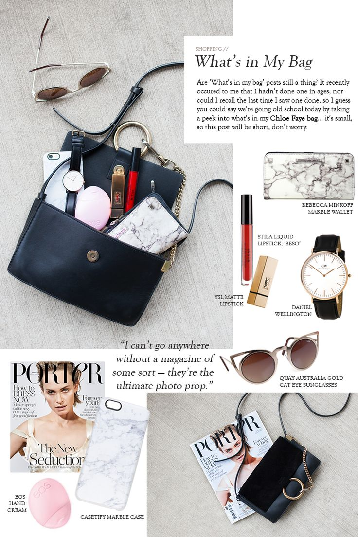 What's In My Chloe Bag
