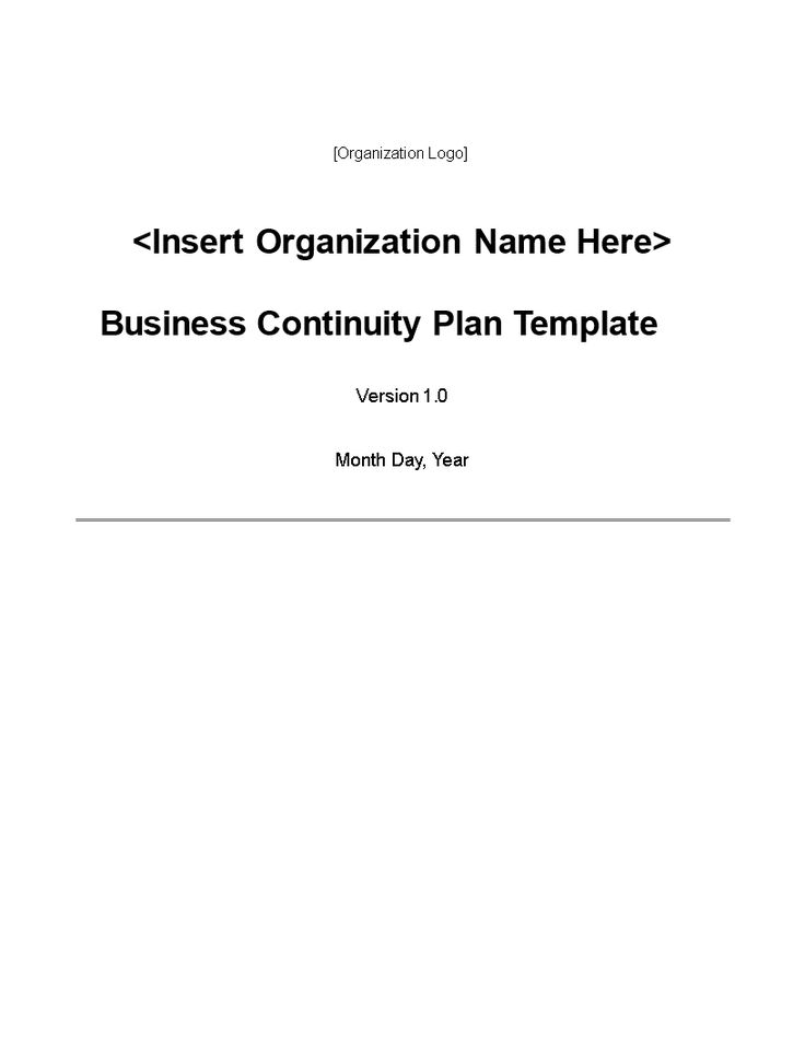 Small Firm Business Continuity Plan Template (BCP) - BCP template - business contingency plan template