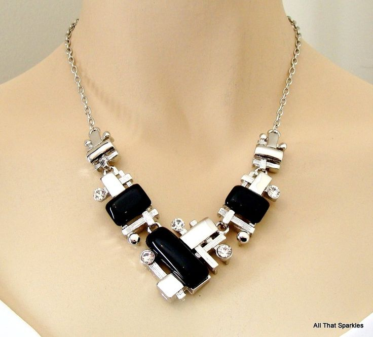 Big Bold Chunky Fashion Necklaces Big Bold Chunky Abstract