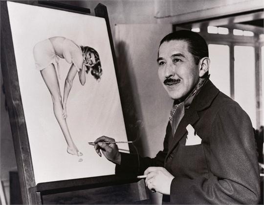 The Godfather of pinups, Alberto Vargas.
