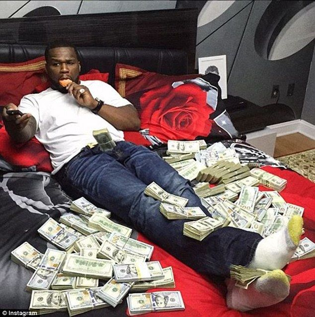 This photo is one of three original images that casted doubt over 50 Cent's actual need to file for bankruptcy. 'I'm concerned about allegations of nondisclosure and a lack of transparency in the case,'  Nevins said