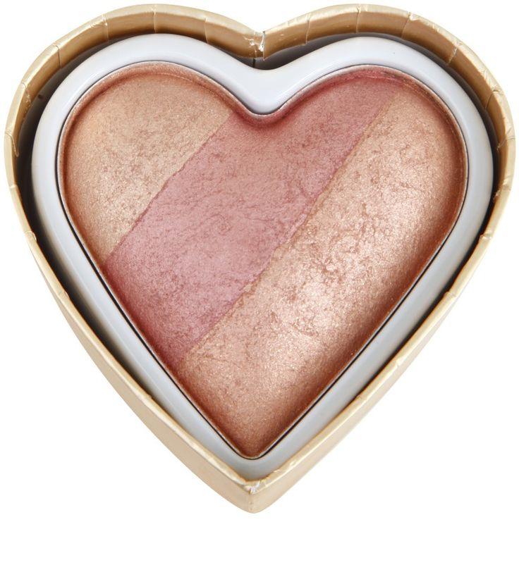 Makeup Revolution I ♥ Makeup Blushing Hearts blush