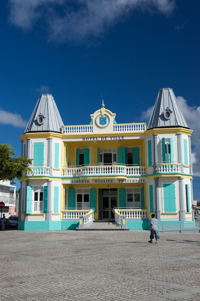 Port-Louis City Hall #GrandeTerre #GuadeloupeIslands