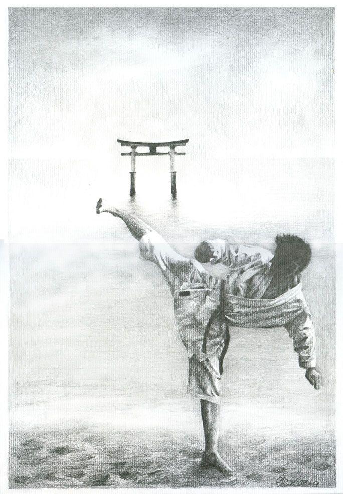 karate poster by ~czochanska on deviantART