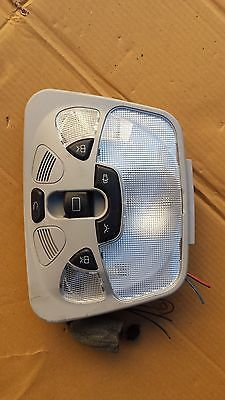 01-06 MERCEDES C320 C230 OVERHEAD CONSOLE LIGHT CONTROL SWITCH 2038205401