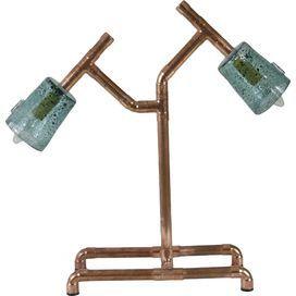 Miamo Copper Table Lamp By Gie El