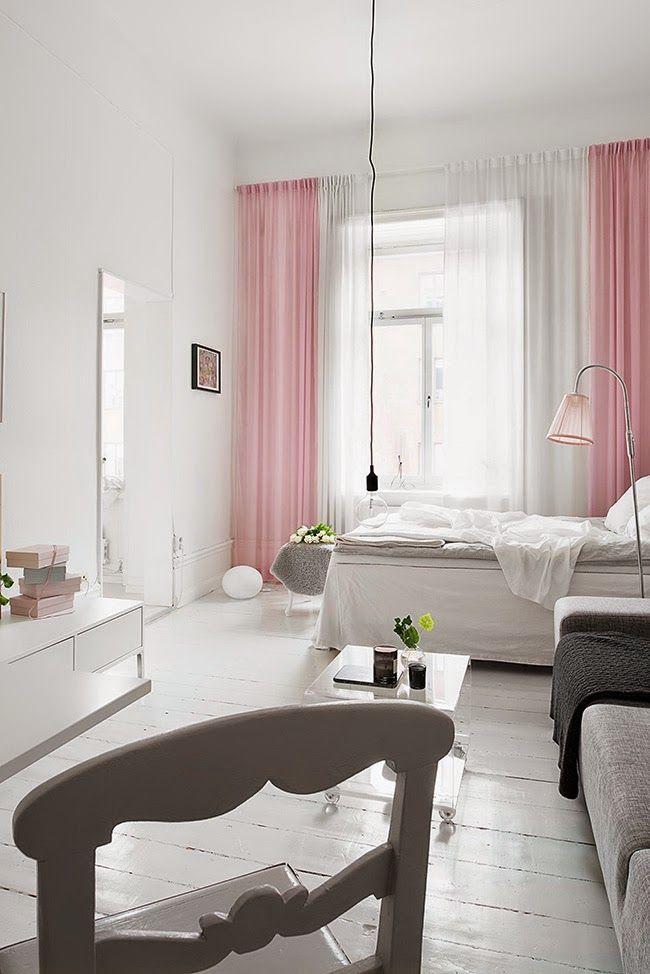 M s de 1000 ideas sobre dormitorios gris rosas en - Habitaciones color gris ...