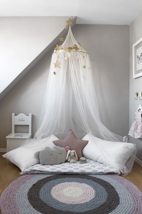 Myshörna i barnrummet. // Kid's room cosy corner. Foto: Peter Erlandsson. alltihemmet.se