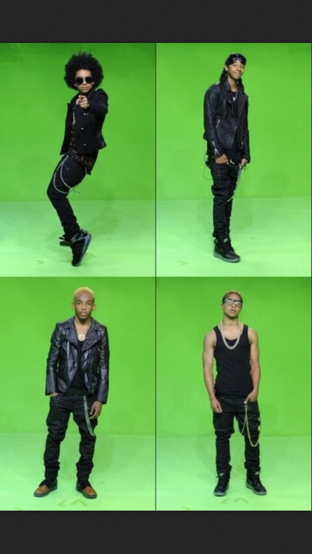 (Mindless Behavior) Princeston, Ray ray, Prodigy, and Roc royal.