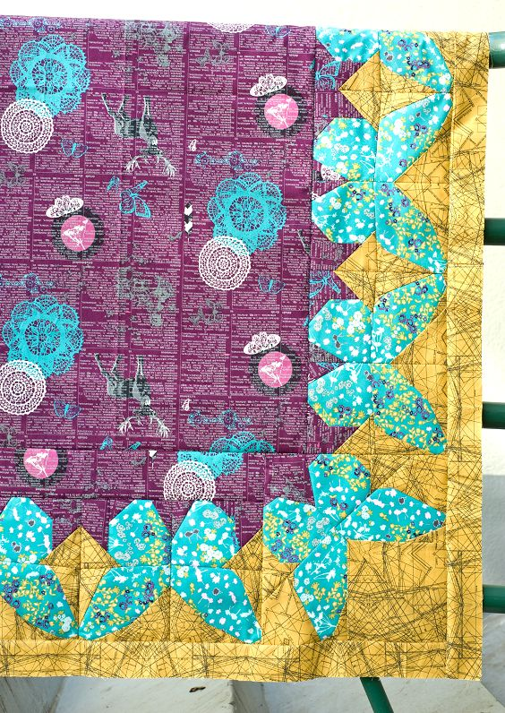 37 best Quilting: Borders images on Pinterest | Tutorials, Books ... : quilt borders and bindings - Adamdwight.com