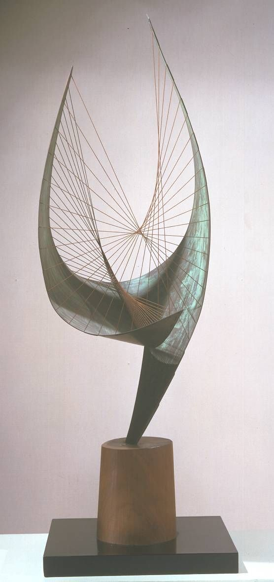 Dame Barbara Hepworth 'Orpheus (Maquette 2) (Version II)', 1956, edition 1959 © Bowness, Hepworth Estate