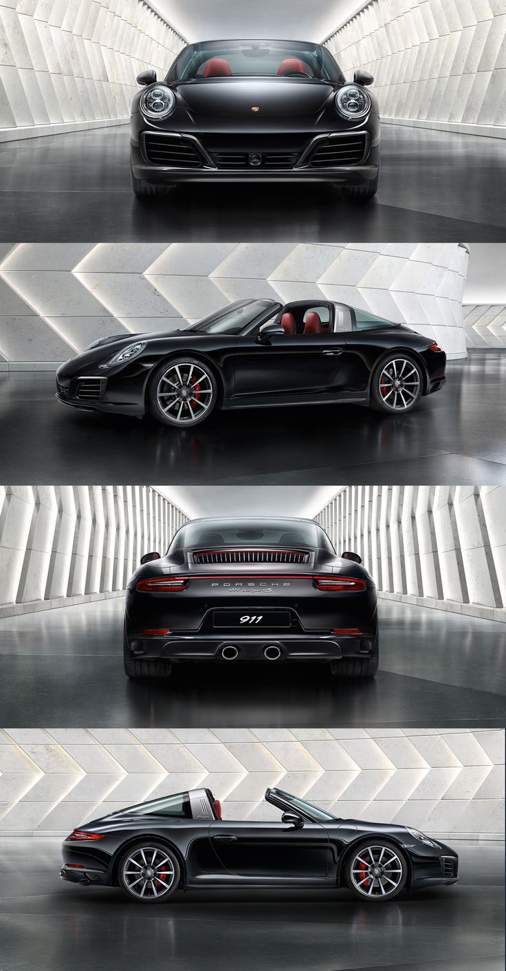 A legend of the 911 range, a classic, a sports car dream – 'the Targa' always will have a special place at Porsche.   *Combined fuel consumption in accordance with EU6: 911 Targa 4 models: 9.0-7.9 l/100 km; 208-182 g/km