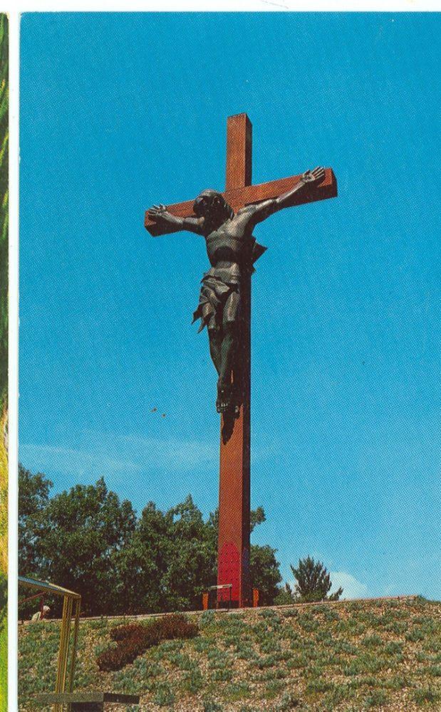 Indian River,MI-World's Largest Crucifix-(1645-131)