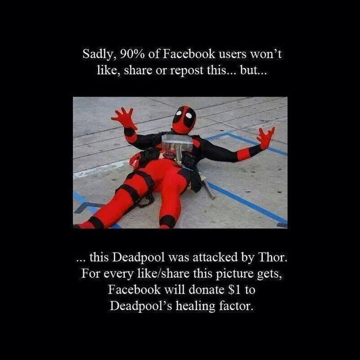 Think about the Deadpools!