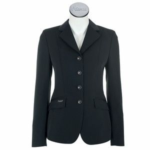 The new dressage coat from Pikeur offers elaborate details and perfect workmanship. andnbsp;Satin collar, Pikeur buttons with a special finish, sophisticated accentuation of lapel and waist with satin