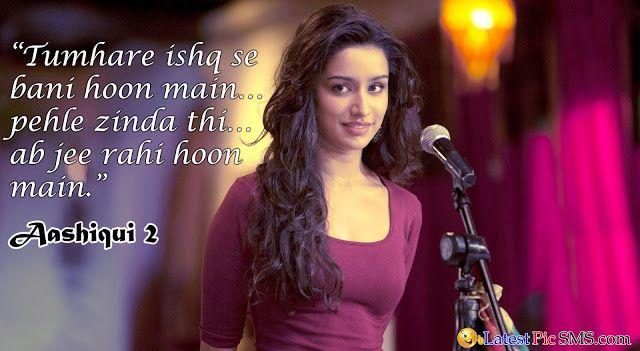 aashiqui 2 ishq love Bollywood Dialogues