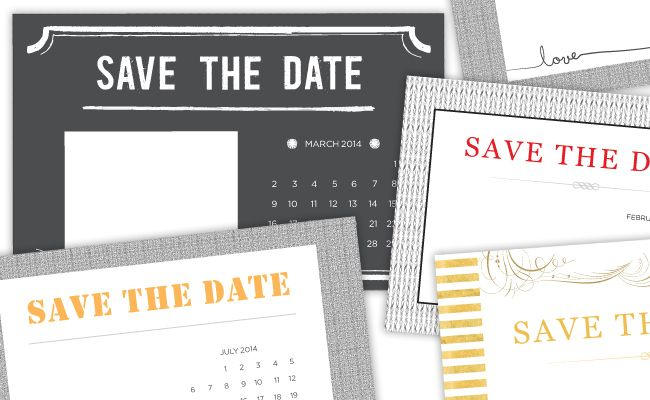 4 printable diy save the date templates the o 39 jays for Diy save the date magnets template