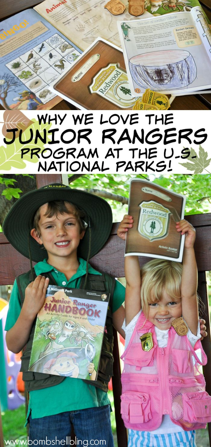 Junior Ranger Program at the US National Parks - and a giveaway!
