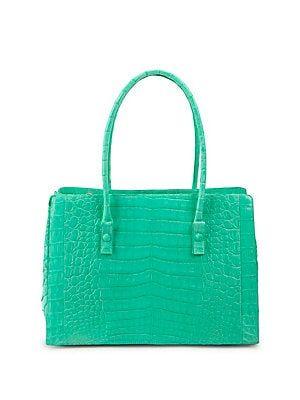 2ff6551944b5 Nancy Gonzalez - Classic Crocodile Tote | woman bags | Bags, Nancy gonzalez,  Kate spade