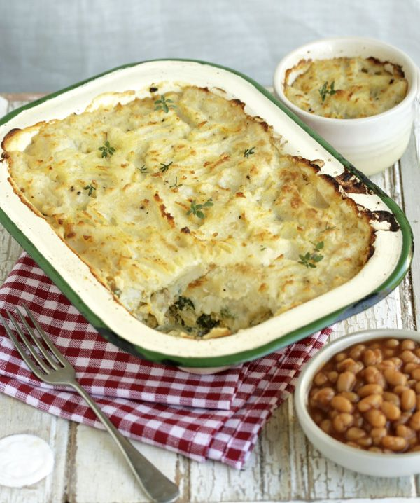 This is my favourite fish pie, one of Jamie Oliver's earlier ones. Easy on the mustard though, for me!