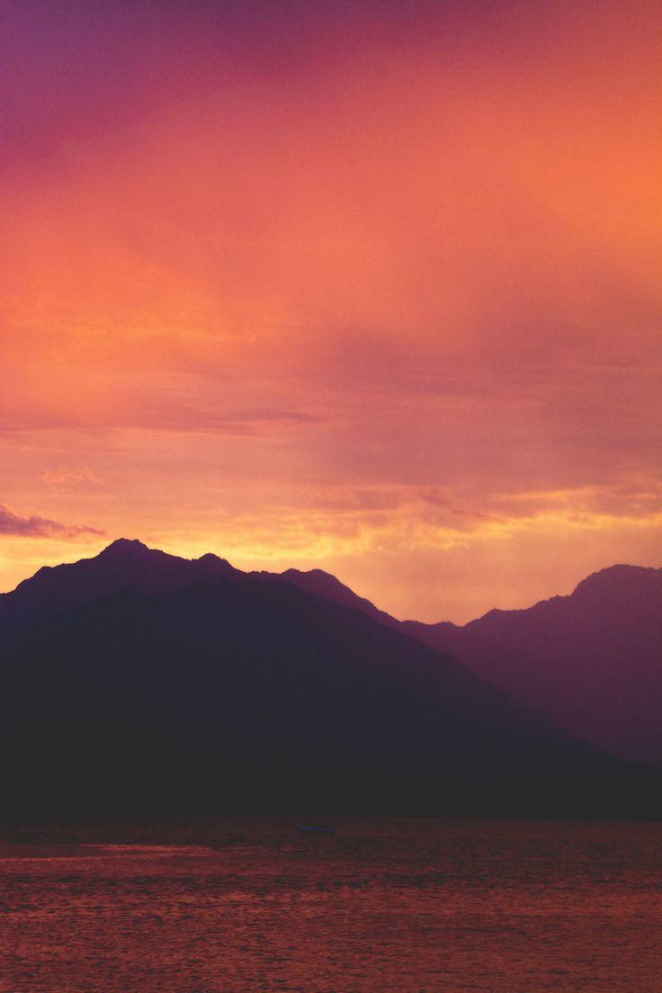 Olympic Mountains, Seabeck, Washington