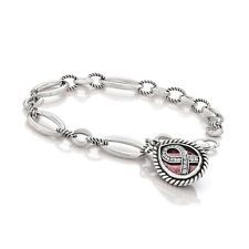 power of Pink brighton bracelet breast cancer gift  charm  pink crystal