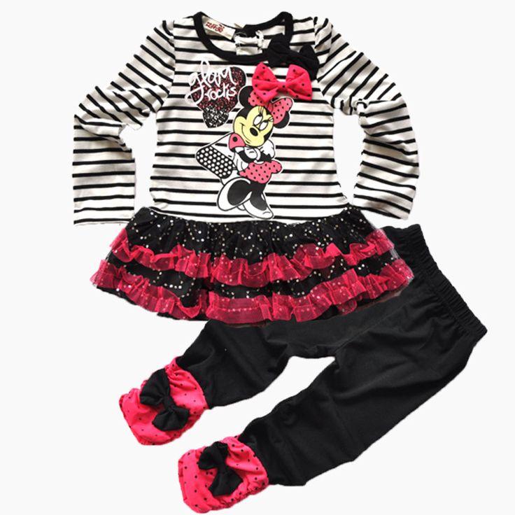 $9.38 (Buy here: https://alitems.com/g/1e8d114494ebda23ff8b16525dc3e8/?i=5&ulp=https%3A%2F%2Fwww.aliexpress.com%2Fitem%2F2017-New-Kids-Minnie-bar-Child-suit-shirt-pants-2pcs-set-girls-striped-suit-bag-cartoon%2F32795233321.html ) 2017 New Kids Minnie bar Child suit shirt + pants 2pcs set girls striped suit bag cartoon Minnie bow sequins veil suit for just $9.38