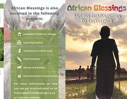 "Check out new work on my @Behance portfolio: ""African Blessings & Foundations for Farming Brochure"" http://on.be.net/1XnQbso"