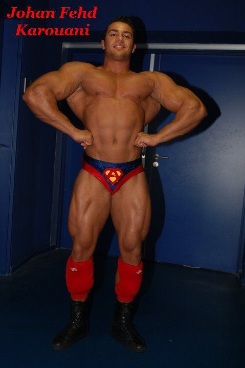 Johan Fehd Karouani (French Bodybuilder & Pro Wrestler ...